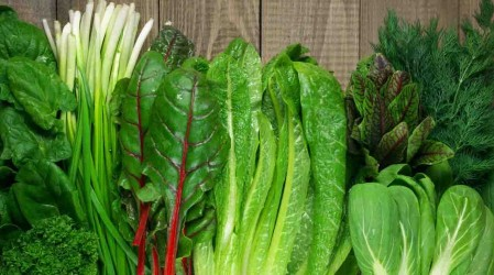 Aumentar el consumo de vegetales verdes es clave para eliminar toxinas