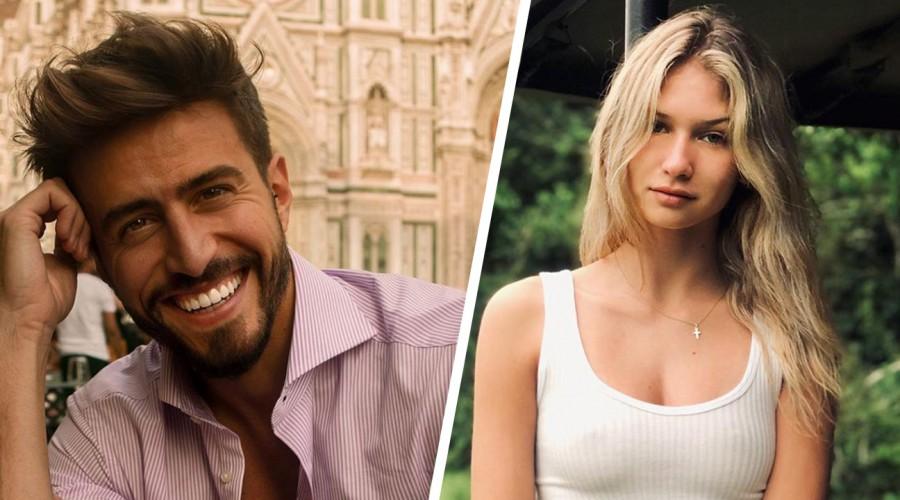 Marco Ferri y Anna Modler se muestran felices en redes sociales con apasionado beso