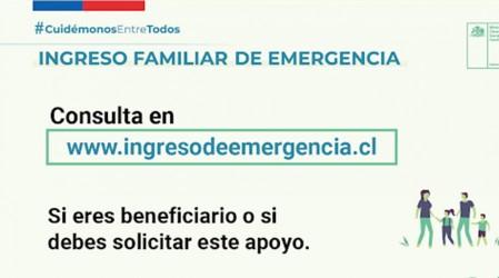 El 30 de septiembre comienzó el quinto pago del Ingreso Familiar de Emergencia