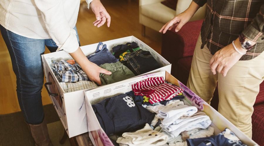 Descarta todo lo que ya no se usa para mantener un hogar ordenado