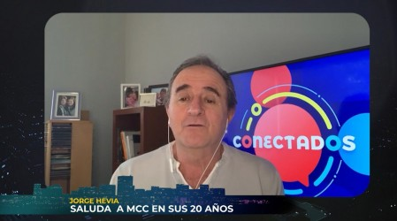 """""""Que vengan muchos más"""": El saludo de Jorge Hevia por los 20 años de MCC"""