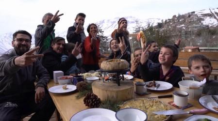 Virginia Demaría nos invitó a un banquete en la montaña