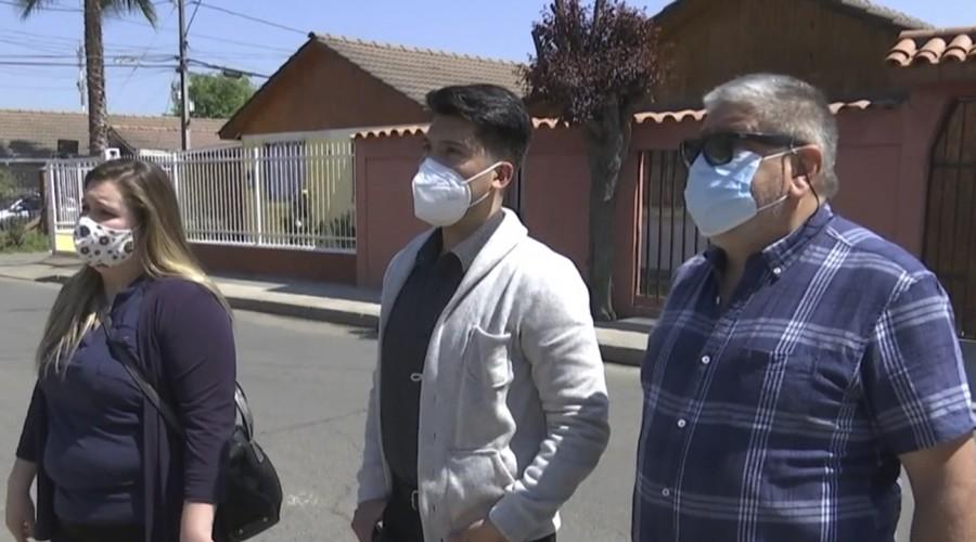 Familia denuncia que no les pagan el arriendo de su casa hace más de 15 meses