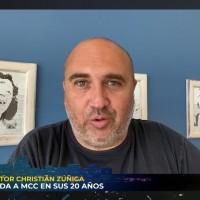 """""""Les mando un abrazo"""": Christián Zúñiga envía saludo por los 20 años de MCC"""
