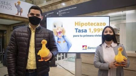 """""""Hipotecazo"""" de BancoEstado posee tasas fijas en créditos para la primera vivienda"""