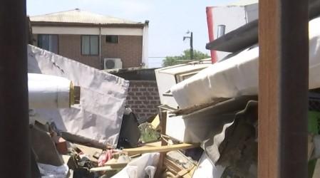 Ratones y moscas: Vecinos de La Florida denuncian a hombre acumulador de basura