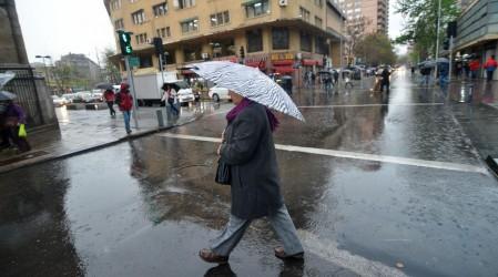 Plebiscito 2020: Anuncian precipitaciones en la RM para este domingo