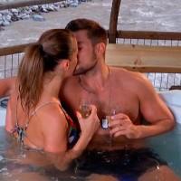 Luis y Gala se besaron apasionadamente