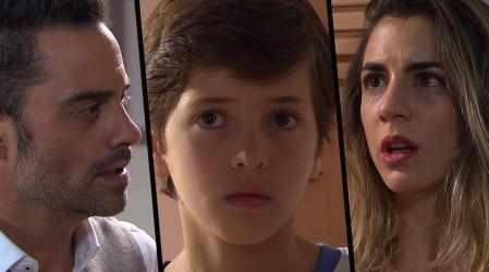 """""""Olvídate de mí"""": La despedida de Agustina y Ricardo"""