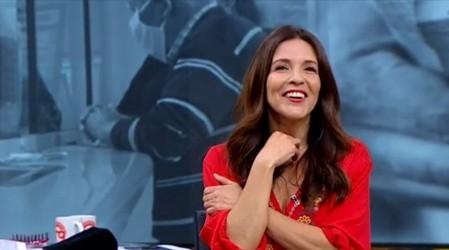 Karla Constant regresó a Mucho Gusto para integrarse al panel