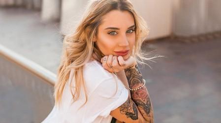 Un recuerdo de Chile: El tatuaje con que Gemma Collado recuerda nuestro país