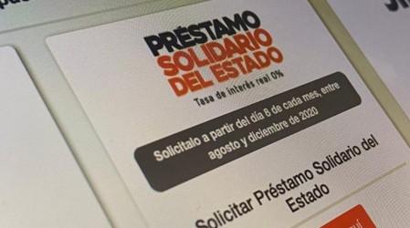 Hasta el 30 de noviembre: Revisa cómo solicitar el Préstamo Solidario del Estado