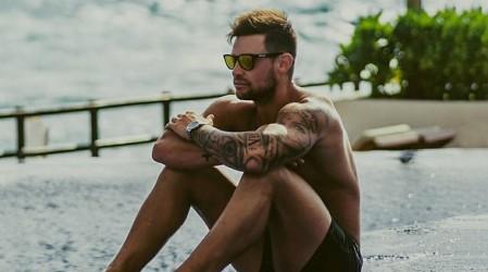 """""""Angelito caído del cielo"""": Luis Mateucci recibe halagos con tenido blanca en Miami"""