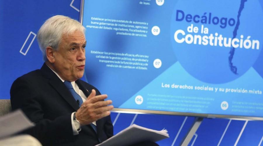 Presidente Piñera afirma que recurrirá al TC por segundo retiro del 10%