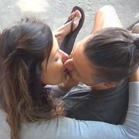 Mónica y Pascual se besaron