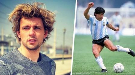 """""""Una vez saludaste a mi mamá"""": Joaquín Méndez compartió anécdota familiar con Diego Maradona"""
