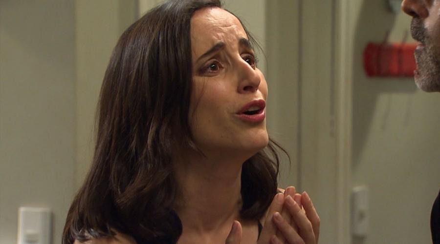 Rocío le suplicó a Leonardo que la dejara tranquila