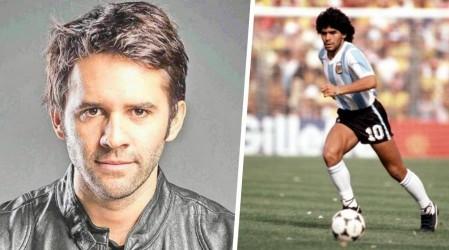 """""""AD10S, genio"""": Así fue la despedida de Mario Horton a Maradona"""
