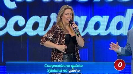 Macarena Tondreau se luce cantando como Thalía