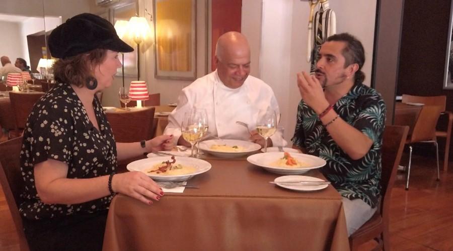 Koke Santa Ana y Javiera Contador descubren las mejores picadas con sabores italianos