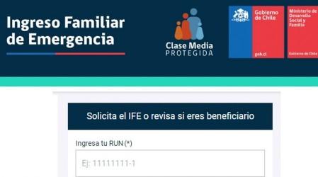 Revisa si serás beneficiario del próximo pago del Ingreso Familiar de Emergencia