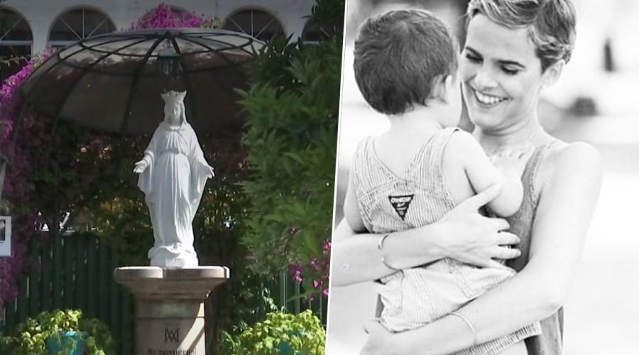 La historia de la medalla de la Virgen de los Rayos que acompañó a Javiera Suárez