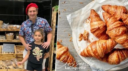 """El actor Juan Pablo Sáez presenta su panadería francesa """"La Coquette"""""""