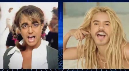 ¿Te imaginas a Daniel Alcaíno como Britney y a Pelo Verde como Shakira?