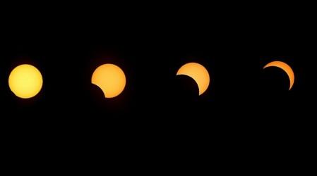 Comenzó el eclipse: Diana Bolocco vive el minuto a minuto desde Pucón