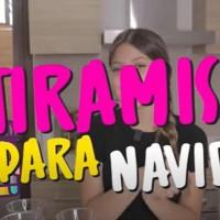 El postre perfecto para Navidad: Ignacia Antonia nos enseña cómo preparar un rico Tiramisú