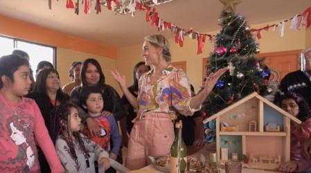 Virginia Demaria preparó una Navidad mágica