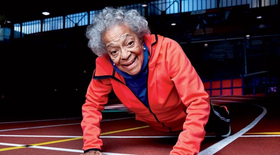 ¿Sabías que Ida Keeling a sus 105 años es la atleta más longeva del mundo?