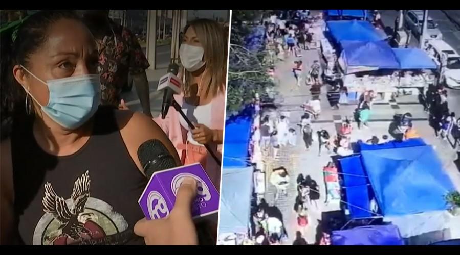 """""""Estos son los días que más vendemos"""": Locatarios de Maipú no pueden volver a trabajar tras balacera"""