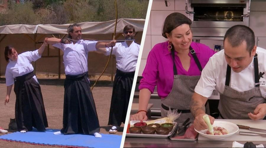 Koke Santana y Javiera Contador se sumergieron en la gastronomía y cultura japonesa