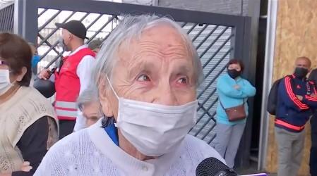 [Lo más visto 2020] Abuelita Norma no obtuvo el bono Covid y se conmovió al recibir donación de jubilado