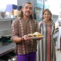 Koke Santa Ana y Javi Contador conocerán la gastronomía judía