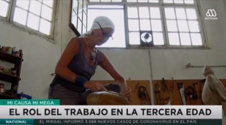 Miguel Kiwi y Ximena Rodríguez: ejemplo de personas mayores en el trabajo