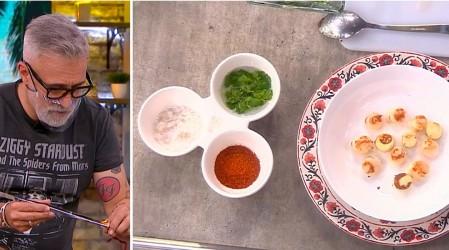 Ostiones y palmitos en salsa citronette: Sergi Arola enseña a preparar una receta afrodisíaca