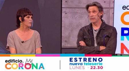 Estreno el 11 de enero: Paola Volpato y Francisco Melo dieron detalles de sus personajes en Edificio Corona