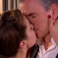 ¡María Elsa sorprendió a Isabel y a su padre besándose!