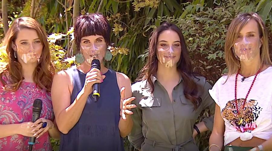 """Las """"Cardenashan"""": Paola Volpato, Vivianne Dietz y Magdalena Müller hablan de su familia en Edificio Corona"""