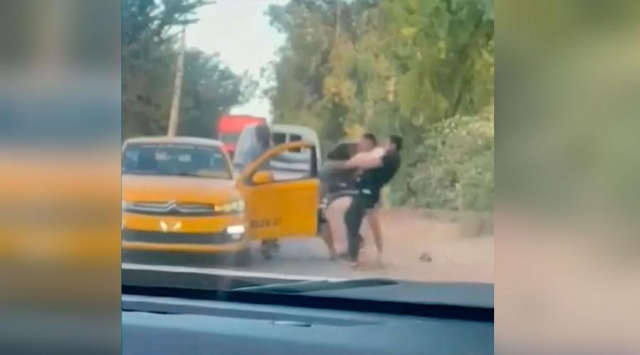 Conductor quedó en riesgo vital tras ser duramente golpeado por un padre y su hijo en San Rafael