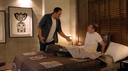 Javier le pidió a Diego que consolara a sus mujeres