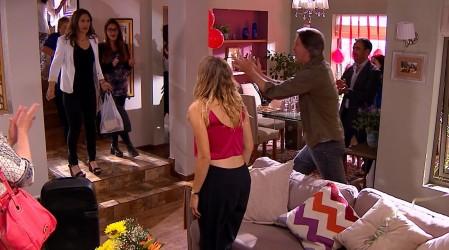 Fernando le dio una gran sorpresa a Maricarmen