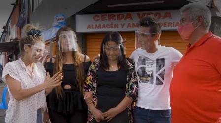 """La nueva fachada del almacén y amasandería """"Cerda Vega"""""""