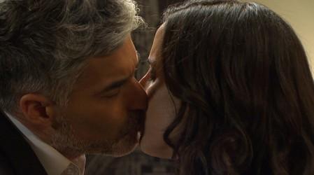 Leonardo y Rocío se besaron