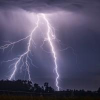 Entre  Coquimbo y Santiago: Probabilidad de tormentas eléctricas para este miércoles