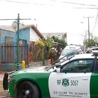 Femicidio en Talagante: Autor habría llamado a su hijo para confesar el crimen