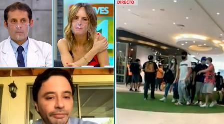 """Alcalde de La Florida sobre aglomeración: """"El Plaza Vespucio se ordena o va a tener que cerrar"""""""