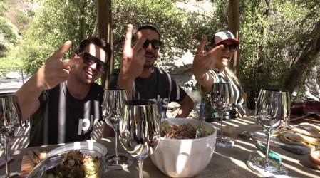 Un verano en Santiago al estilo de Plan V: Virginia de María nos deleitó con un buen asado al aire libre